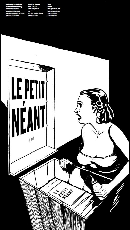 Le Petit Nant Launch - Second Poster