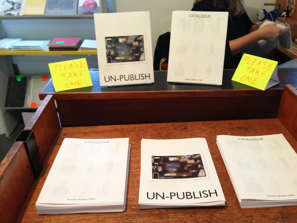 UN-PUBLISH 2.04: Catalogue, 2013 (banner repeater's Reading Room)